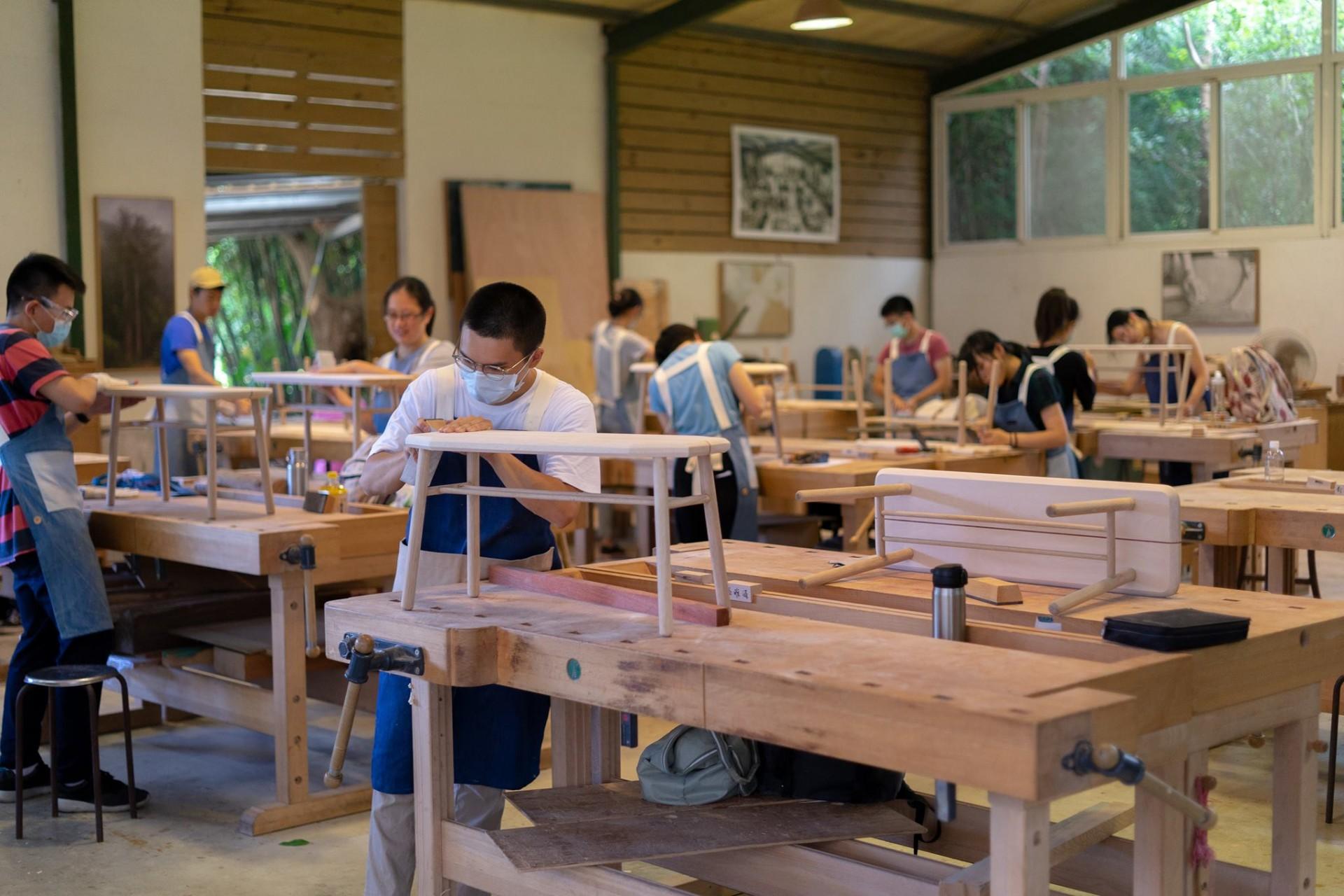 森林裡的木工私塾-懷德居